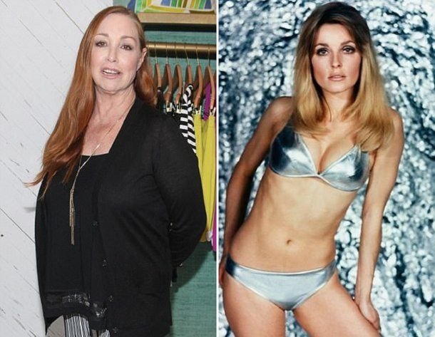 <p>Debra (izquierda) y Sharon Tate (derecha)</p>