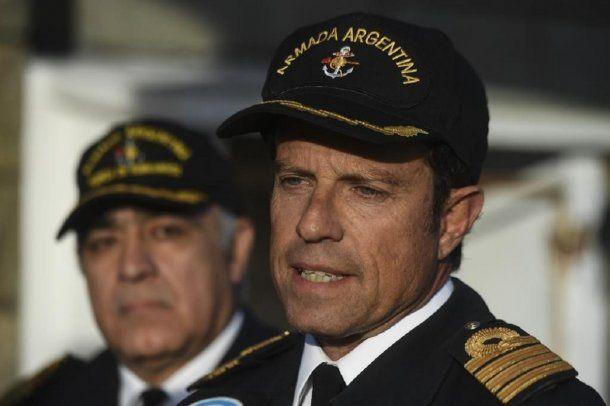 Gabriel Galeazzi, vocero de la Base Naval de Mar del Plata