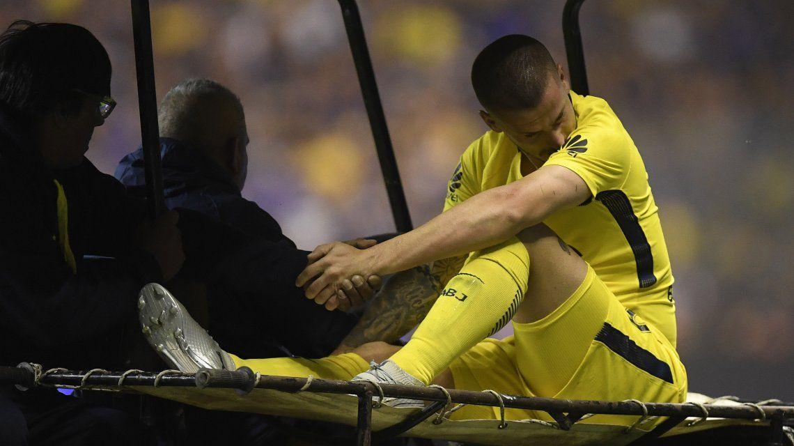 Benedetto espera para poder ser operado y comenzar la recuperación