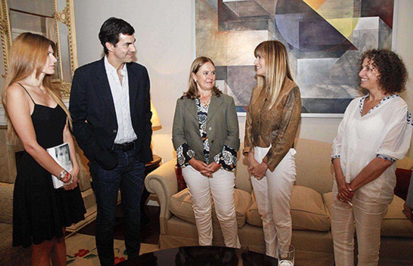 Juan Manuel Urtubey con Gabriela Arias Uriburu en Salta.