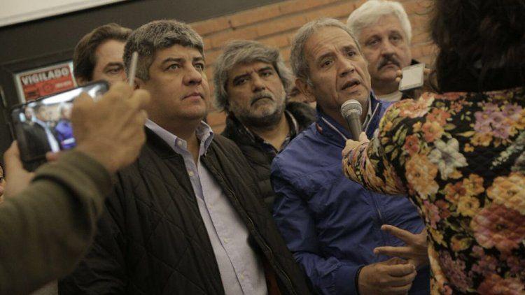 Camioneros y bancarios preparan movilizaciones contra la Reforma Laboral. Foto Twitter @SergioOPalazzo.