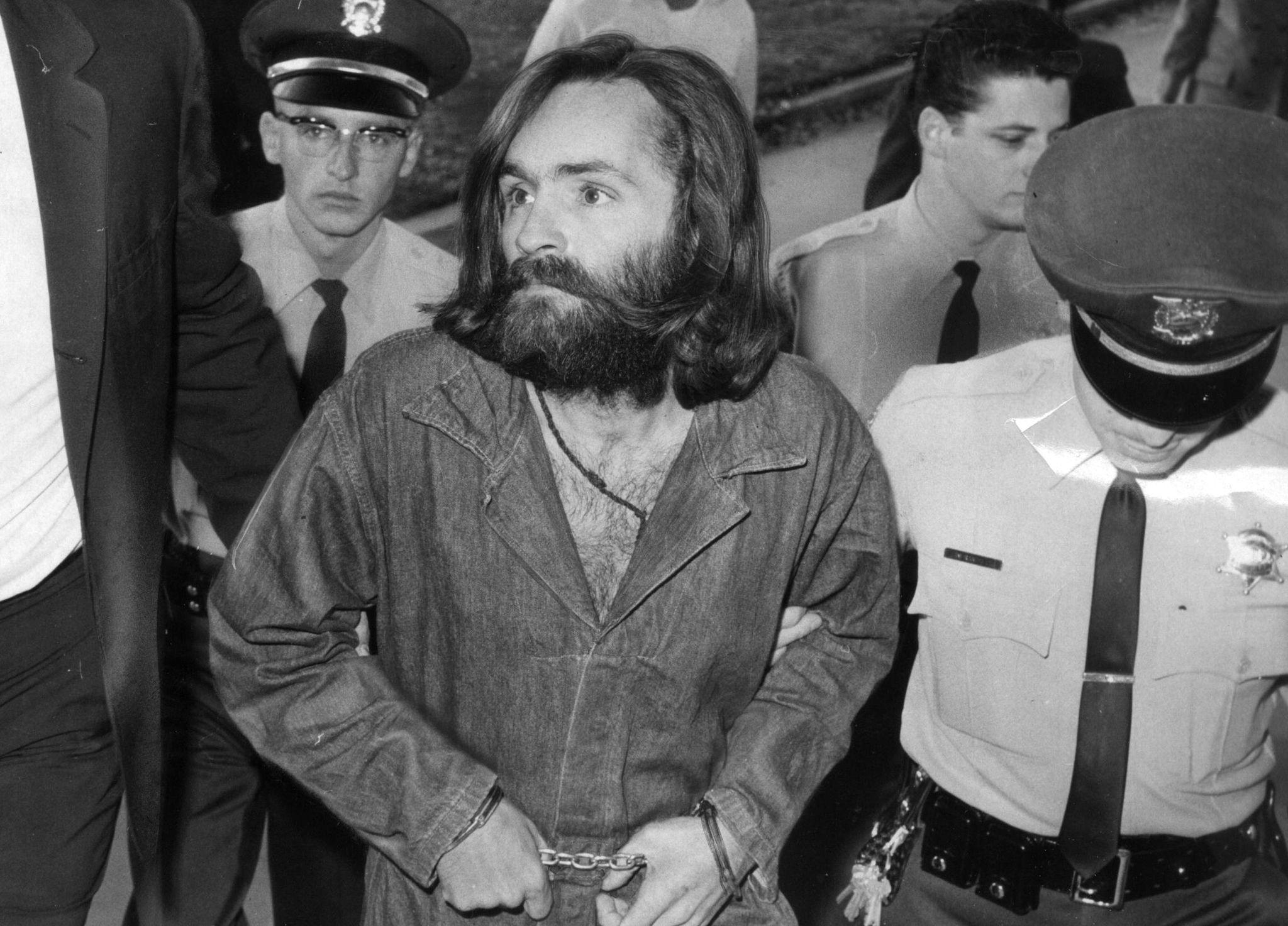 Charles Manson en 1969.