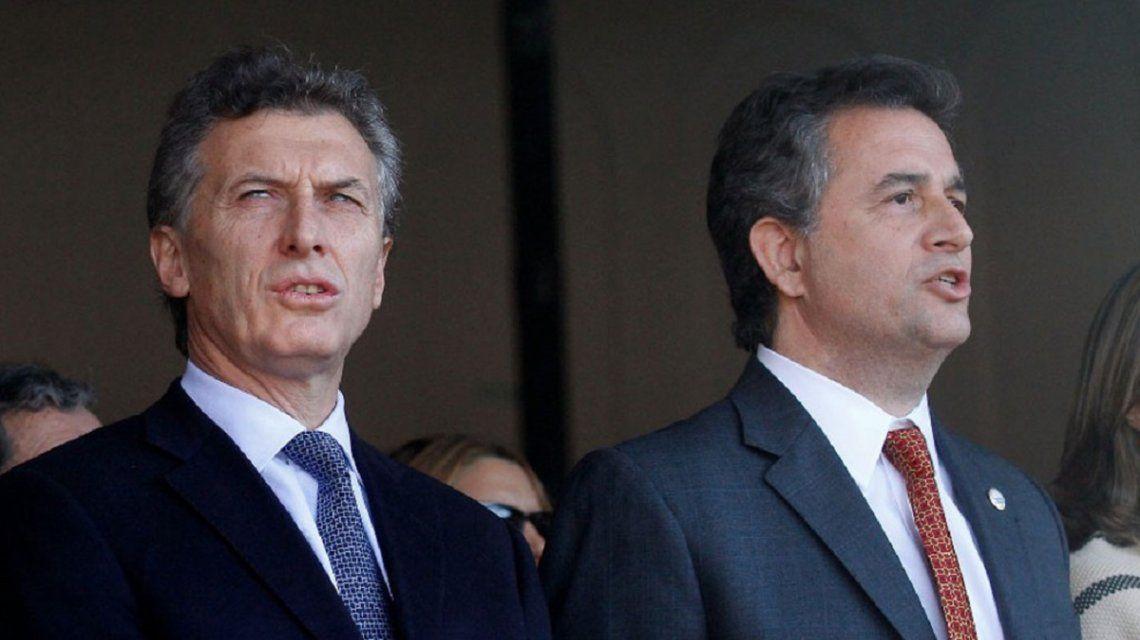 Mauricio Macri y Luis Miguel Etchevehere