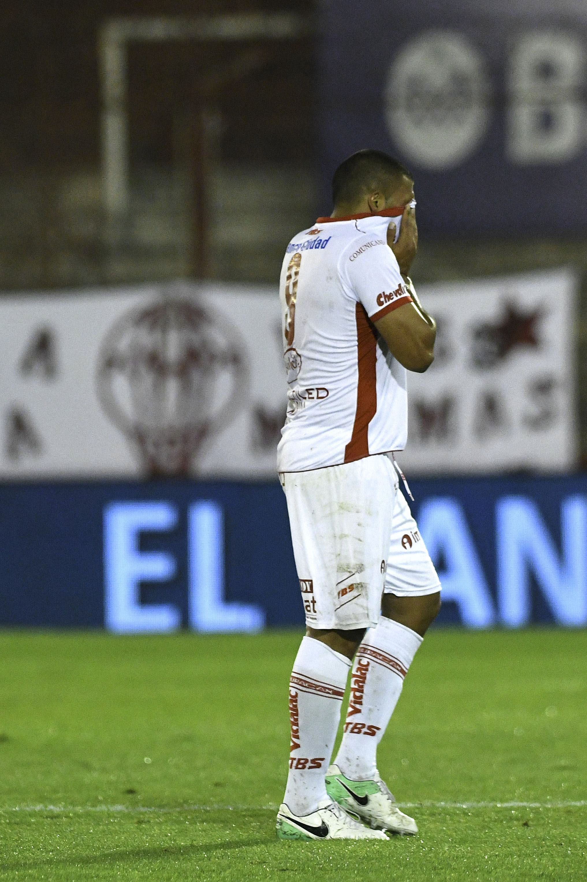 El delantero hizo cuatro goles en esta etapa en el Globo