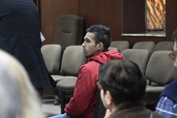 Joel Fernández , alías Chavito, imputado por el femicidio de Melina Romero en 2014.