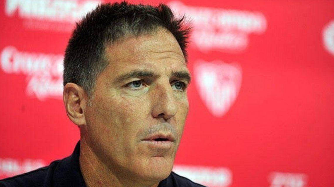 Berizzo fue despedido como DT del Sevilla