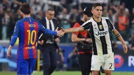 Lionel Messi y Paulo Dybala, conductores del Barcelona y la Juventus