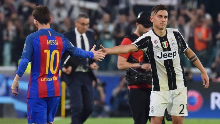 Lionel Messi y Paulo Dybala