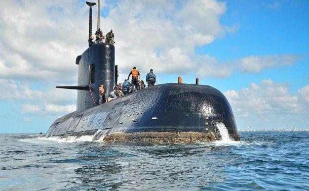 El submarino ARA San Juan