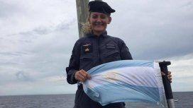 Teniente de navío Eliana María Krawczyk.