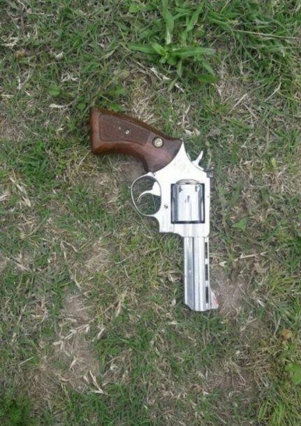 El arma que le secuestraron a José