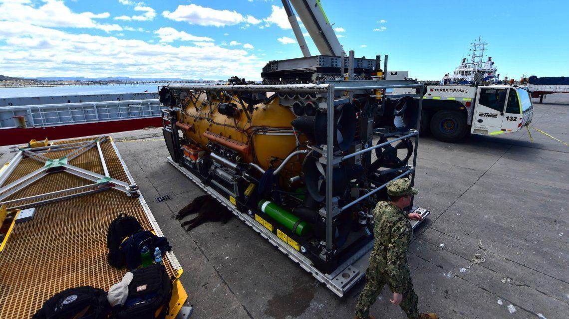 EEUU envió un minisubmarino para salvar a la tripulación del ARA San Juan