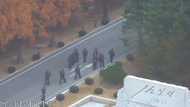 VIDEO: Disparan a un soldado norcoreano al intentar desertar a Corea del Sur