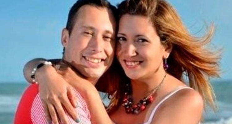 Itatí Leguizamon y su esposo Germán Oscar Suárez..