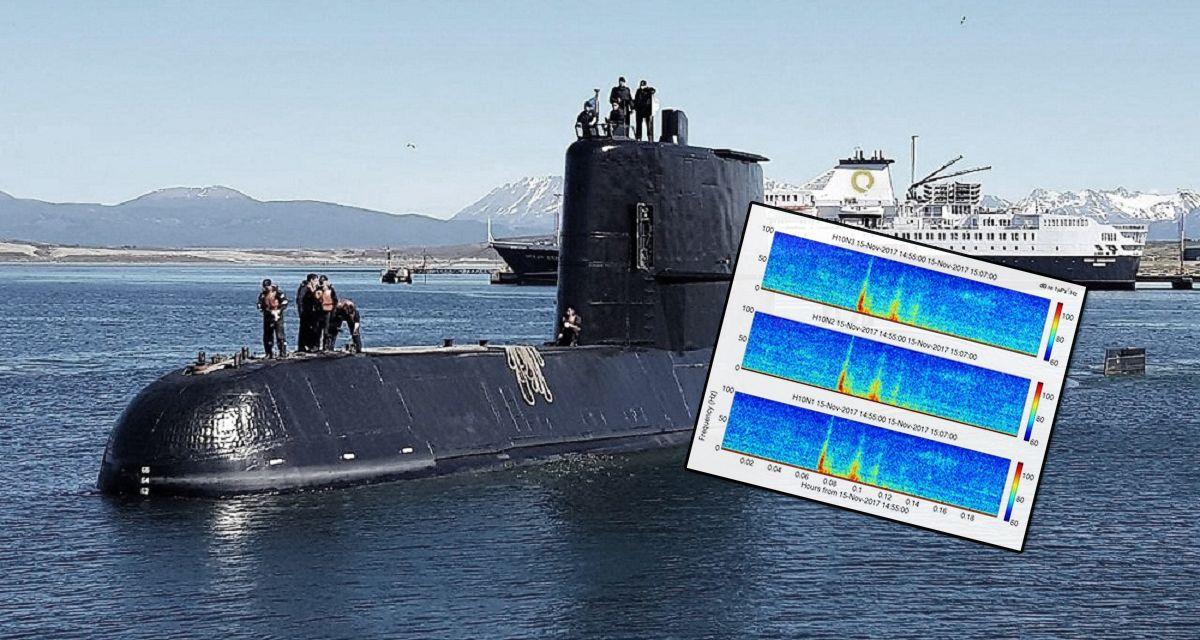 Búsqueda del submarino ARA San Juan: hora, frecuencia y lugar exacto de la explosión