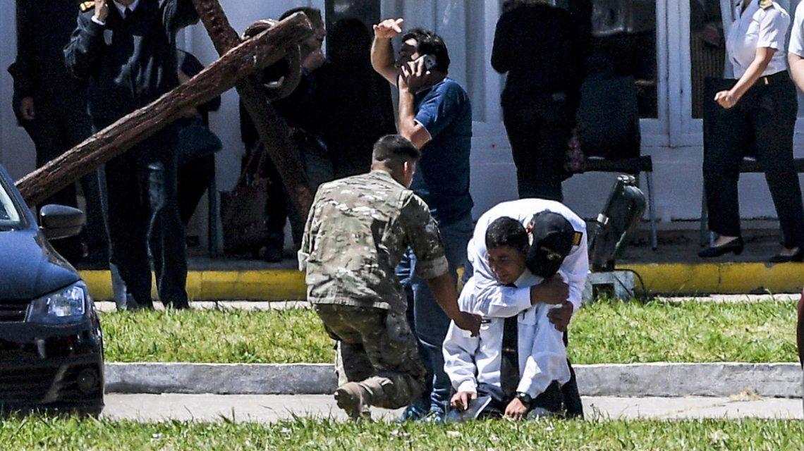 La peor declaración del papá de un tripulante del submarino: Están todos muertos