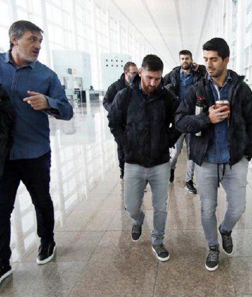 Fuerte accidente de un amigo de Messi en Barcelona