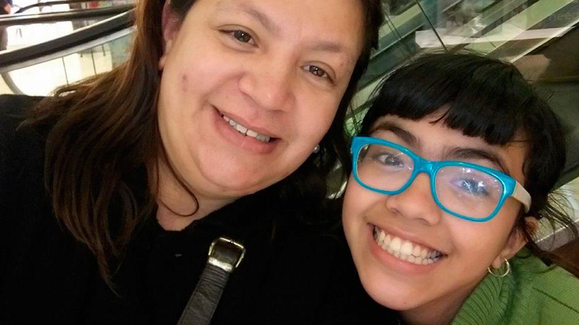 Brissa y su mamá