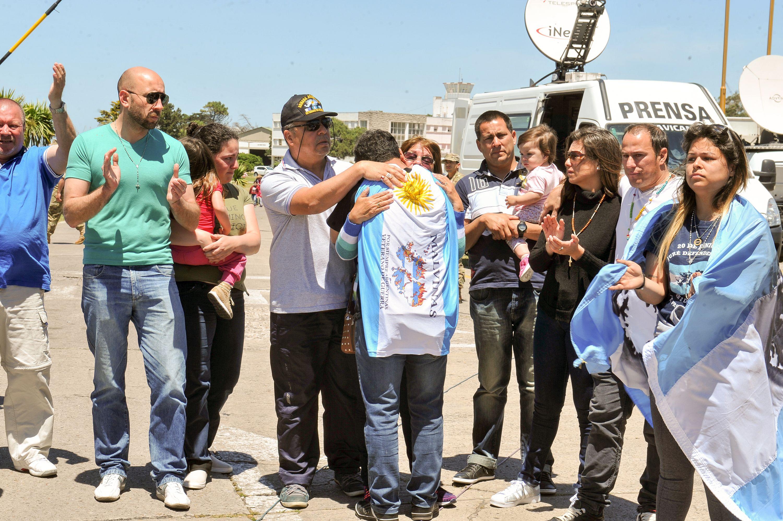 Los familiares de los 44 tripulantes del ARA San Juan rechazan que se decrete un duelo nacional
