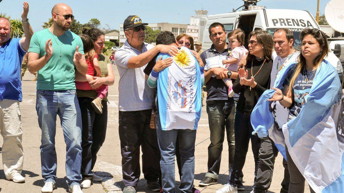 Mar del Plata: los familiares de los tripulantes del ARA San Juan le pidieron explicaciones a Macri