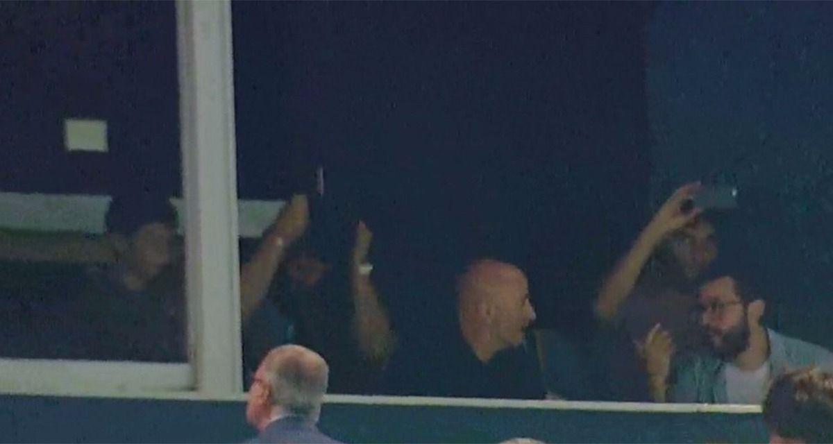 El técnico de la Selección estuvo en Avellaneda (Captura TV).