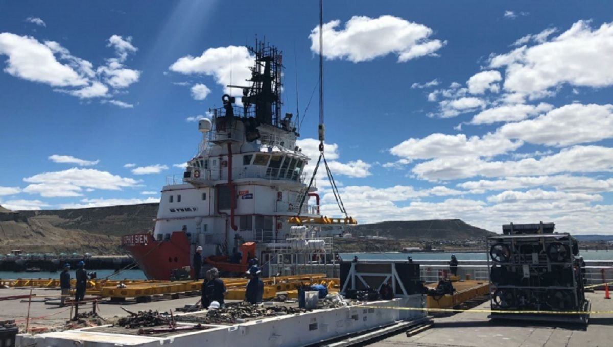 Submarino desaparecido, día 11: el fuerte viento demora un operativo de rescate clave