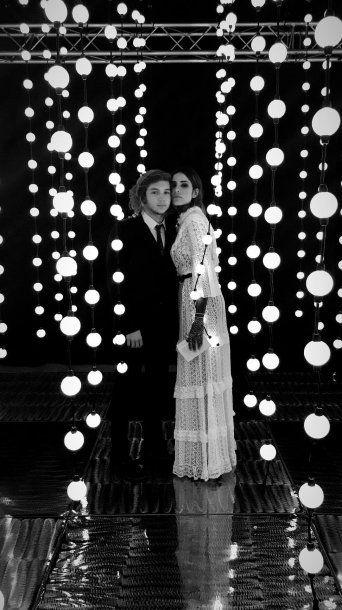 Candelaria Tinelli y Franco Masini en la fiesta de Juanita. Foto: Instagram de Candelaria.