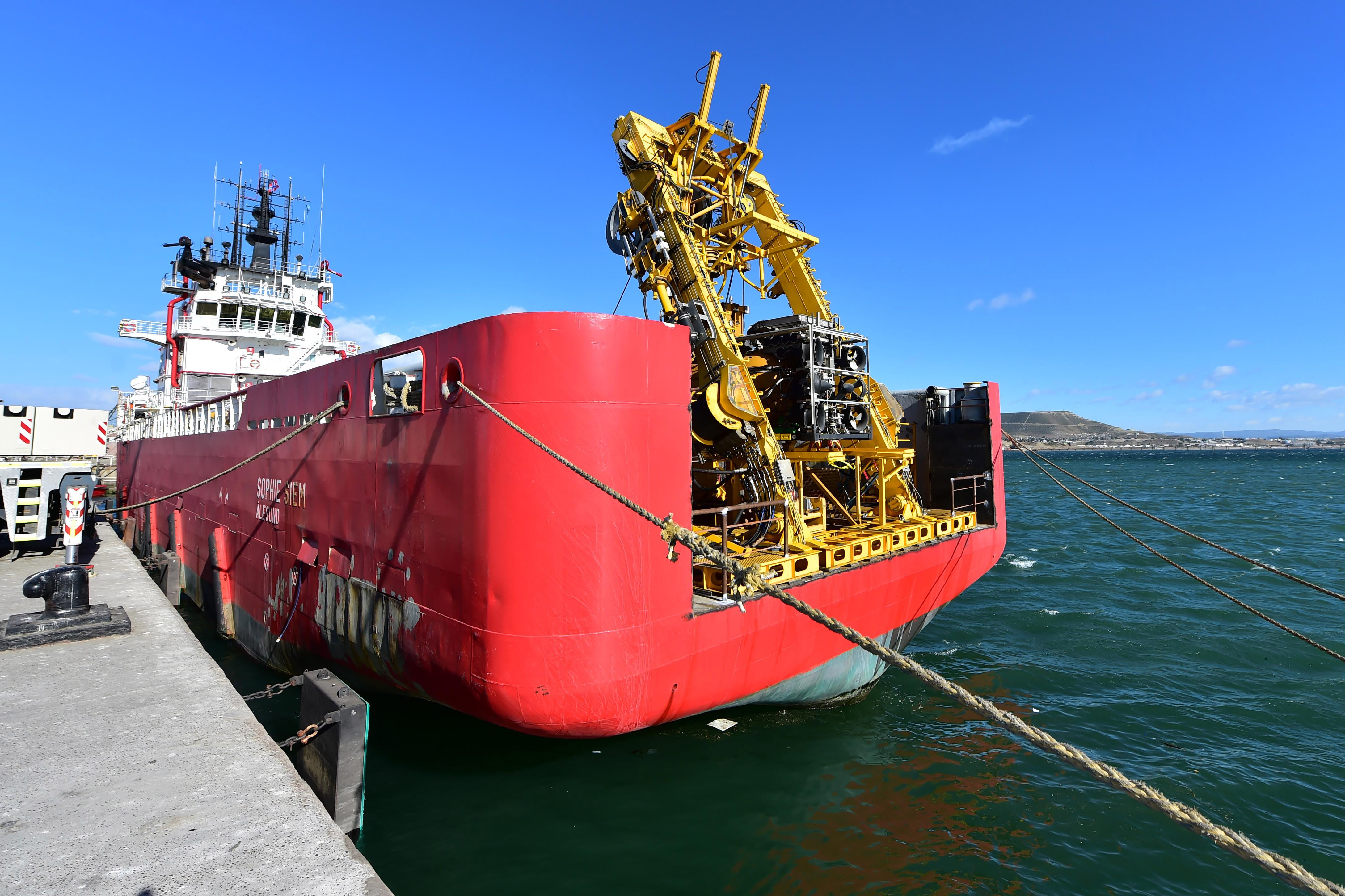 El minisubmarino de EE.UU. se dirige a la zona de búsqueda del ARA San Juan