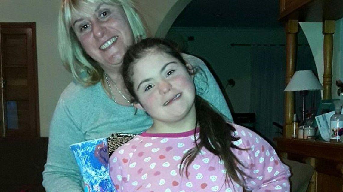 Curas repugnantes: la dura respuesta de la mamá de la nena con síndrome de down