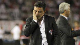 Marcelo Gallardo preocupado