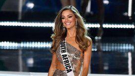 Durante el concurso deslumbró con su sonrisa