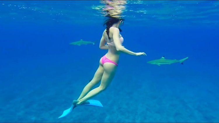 Snorkeling es una de las actividades de moda