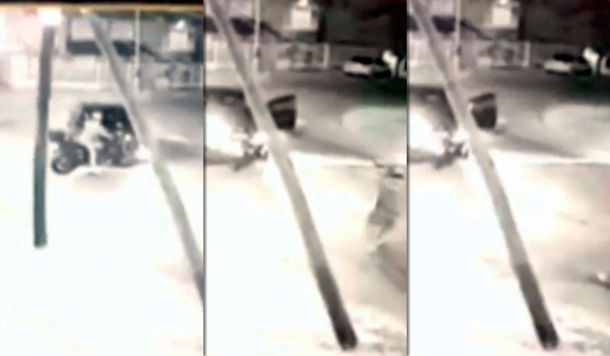 VIDEO: Así fusilaron a un policía de la Ciudad en Luis Guillón