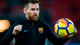 Messi, siempre dueño de la pelota