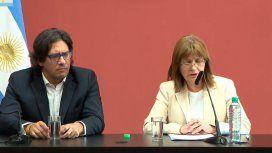 Bullrich habló de la muerte del joven mapuche y dijo que el desalojo fue legal