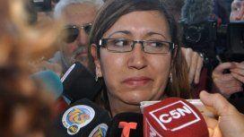 Itatí Leguizamón denunció que los familiares de los tripulantes la insultaron.