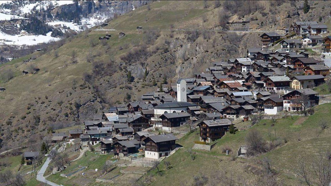 Albinen, el pueblo de Suiza que paga 22 mil euros para vivir ahí
