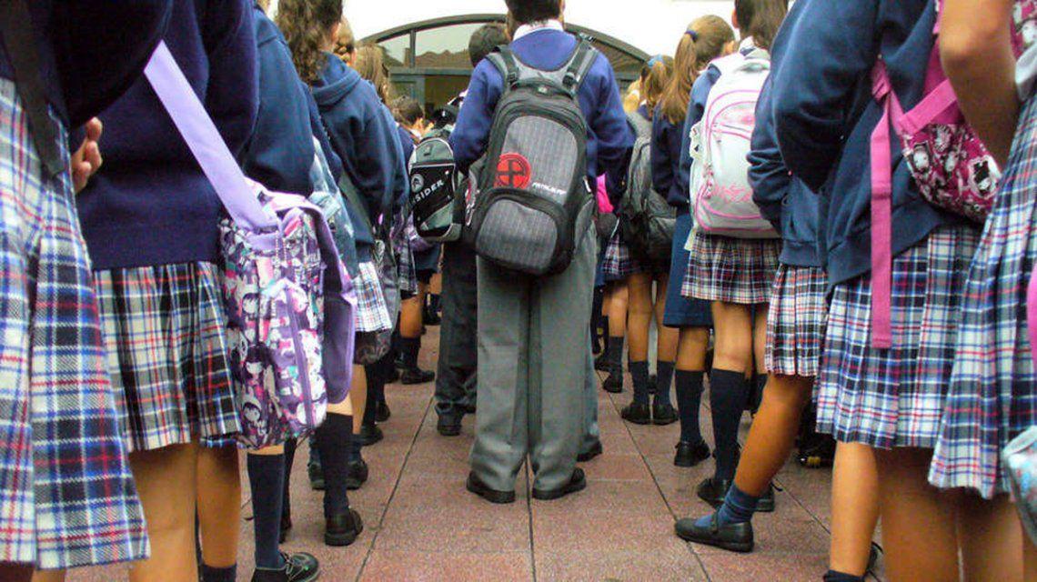 Las cuotas de los colegios privados aumentarán  en marzo un 8,5%