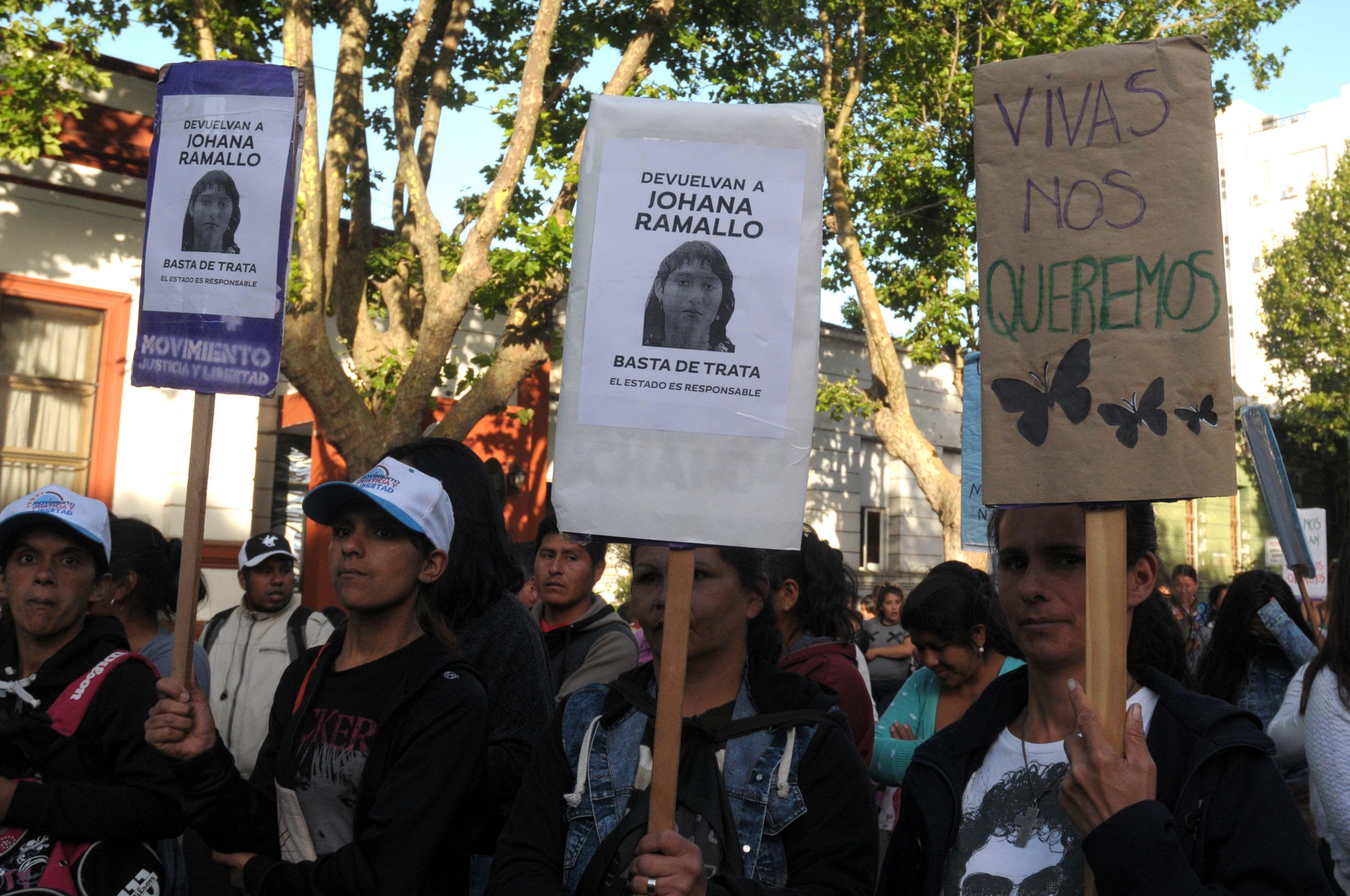 Cuatro meses sin Johana: masiva marcha por la desaparición de la joven