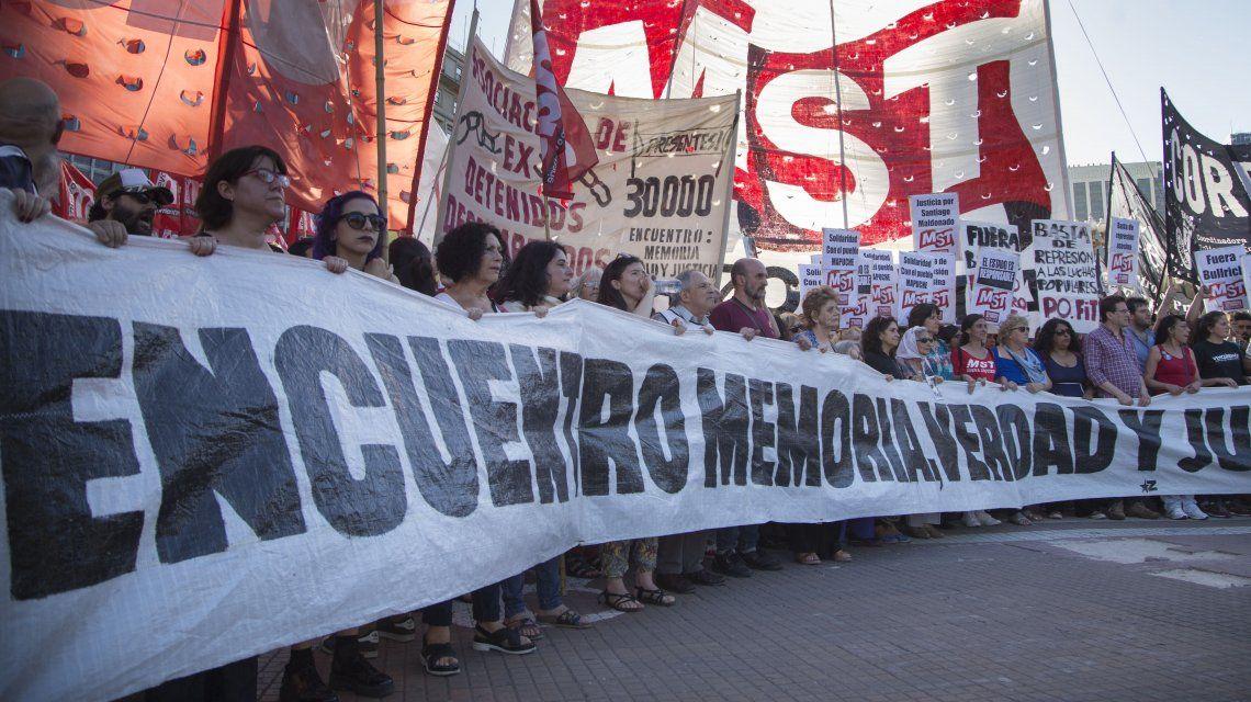 Marchan al Ministerio de Patricia Bullrich para exigir justicia por Rafael Nahuel