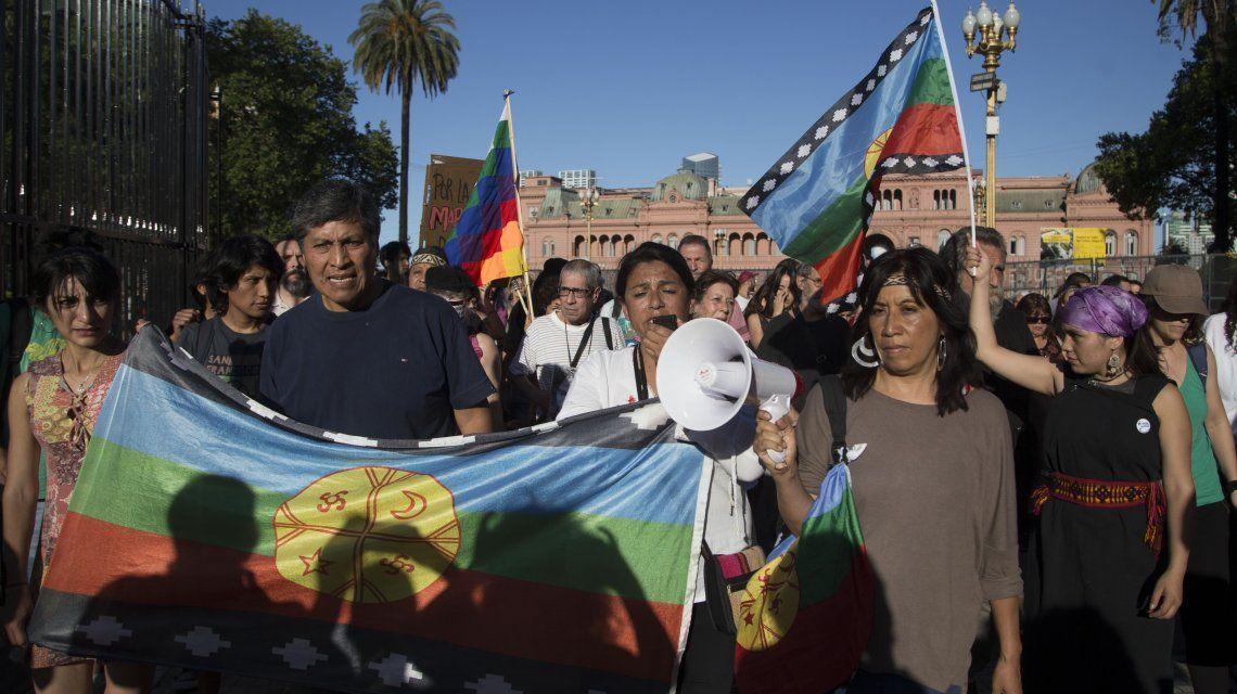 Así se movilizaron a la Plaza de Mayo