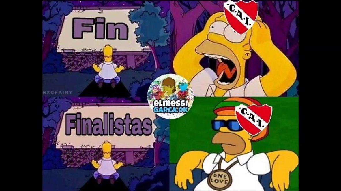 Es para Racing que lo mira por TV: los mejores memes de Independiente finalista
