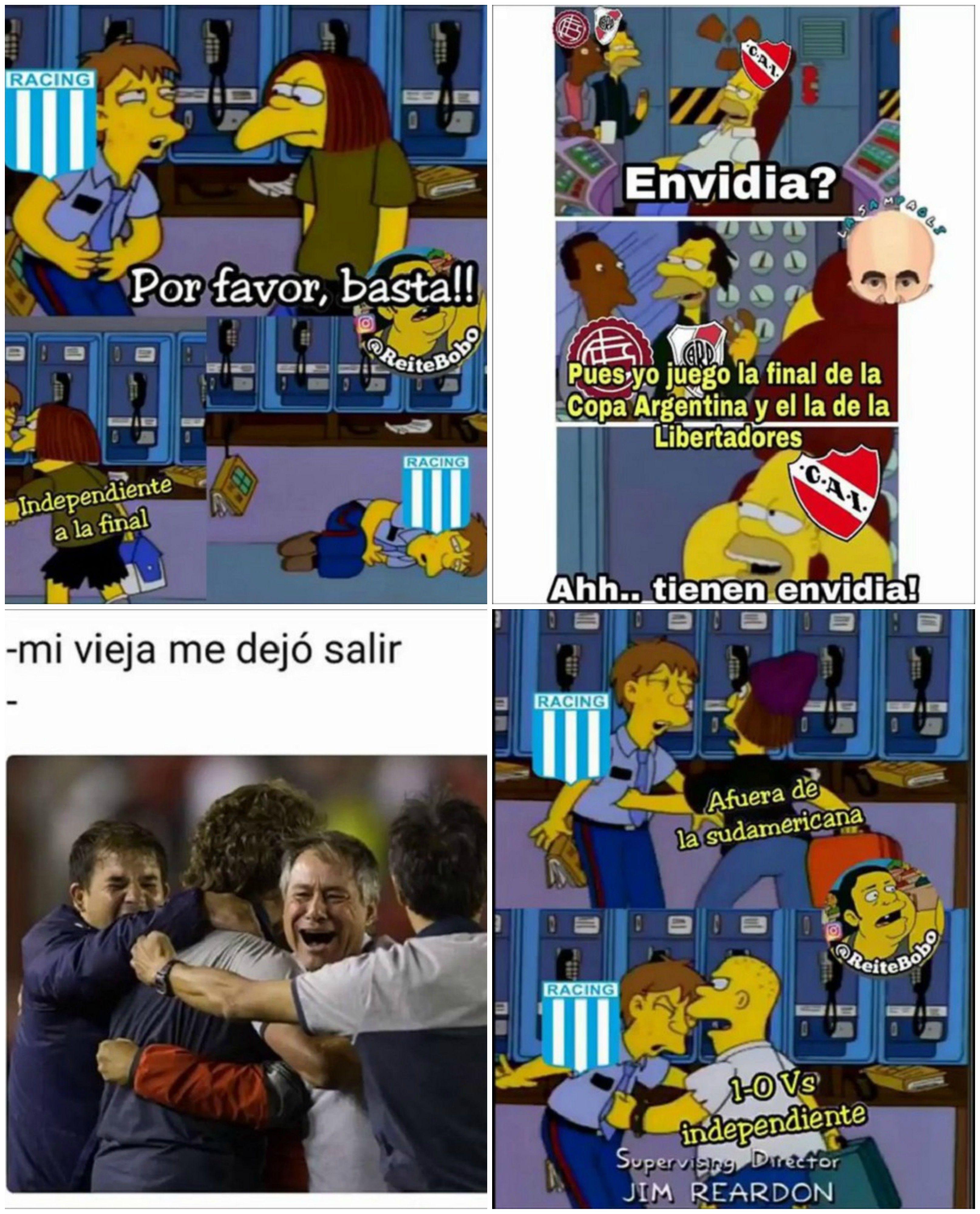 Memes de Independiente finalista