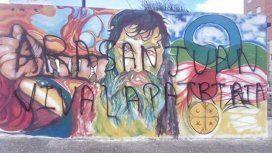 Mural de Santiago Maldonado