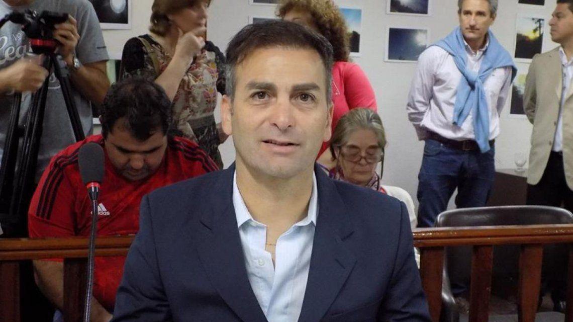 El concejal de Pinamar