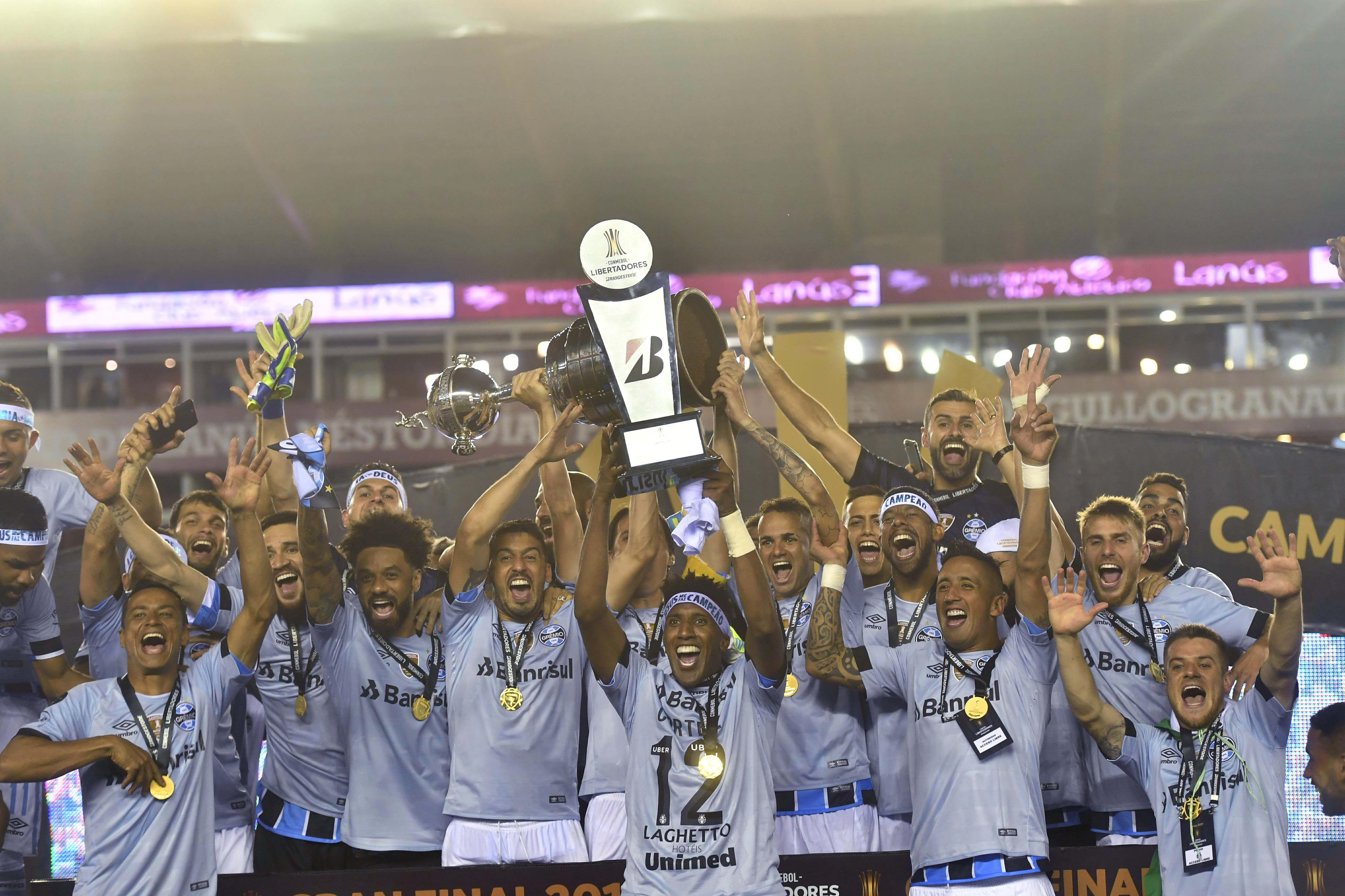 Gremio campeón de la Copa Libertadores 2017