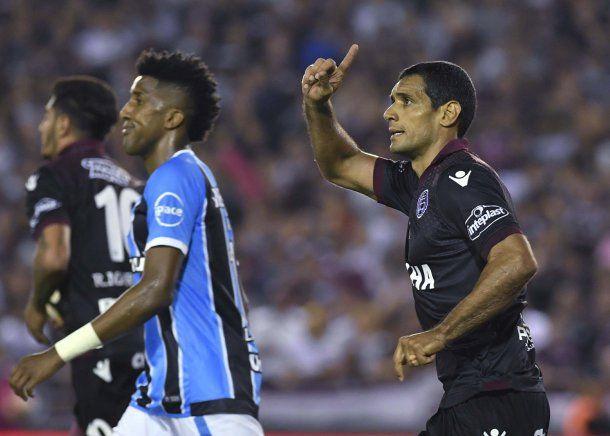 Pepe Sand, goleador de la Copa Libertadores 2017<br>