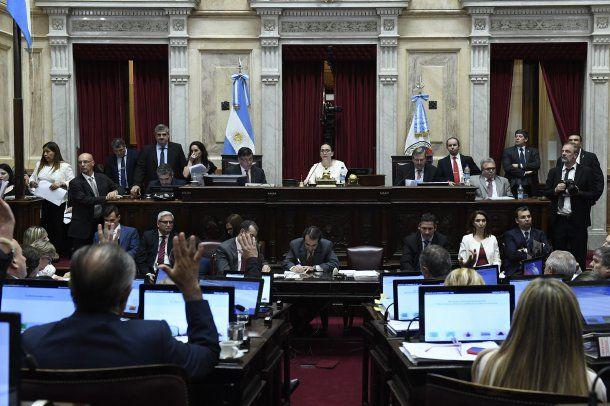 <p>La reforma previsional fue aprobada por amplia mayoría en el Senado</p>