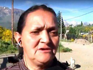 Graciela, la madre de Rafael Nahuel