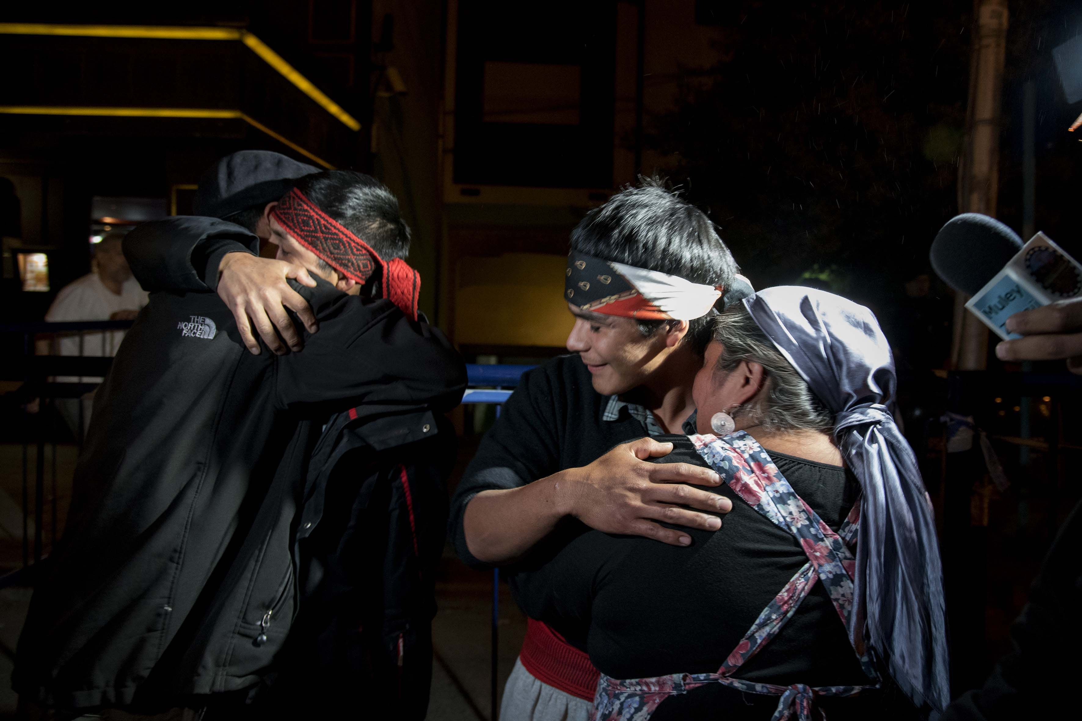 Liberaron a Fausto Jones Huala y Alejandro González